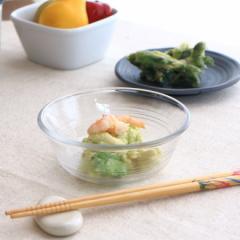 ガラス 清流 小鉢 13cm ホナミ コバチ ボール 小鉢 中鉢 ガラス 食器 器 浅鉢 肉じゃが鉢 煮物鉢 サラダボウル カフェ 食器 器 皿 お皿