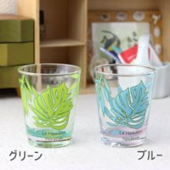 ル・ハワイアン タンブラー 200ml ガラス ガラス製 カップ コップ 冷茶 国産 アイスコーヒー 麦茶 ロックグラス 冷酒グラス ロックカップ