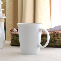 大きいストレートマグカップ 360ml 国産 美濃焼 カップ マグ 白い食器 コーヒーカップ 陶器 北欧 白いマグ 洋食器 カフェ シンプル おし