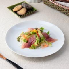 イタリアンシンプルプレート 23.8cm 日本製 美濃焼 小皿 取り皿 丸皿 取り分け皿 定食皿 小付け プレート 白 表示在庫限り 食器 うつわ
