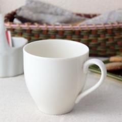 ややクリーム色のたっぷりマグカップ 360ml 日本製 美濃焼 カップ コップ タンブラー コーヒーカップ 白いマグ 白 表示在庫限り 食器 陶