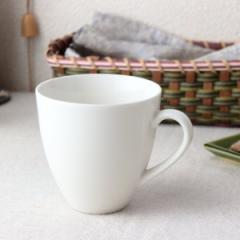 ややクリーム色のイタリアンマグカップ 290ml 日本製 美濃焼 カップ コップ タンブラー コーヒーカップ 白いマグ 白 表示在庫限り 食器