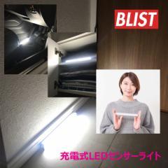 【人感センサー搭載】充電式LEDセンサーライト Gladys グラディス BW-022 /整備/キャンプ/アウトドア/軽量/コンパクト/明るい/LED/ライ