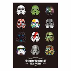 PO Sticker Star Wars ポステッカー(ストーム・トルーパー フェイス) (C)&TM Lucasfilm Ltd. /ポスター/ステッカー/壁紙/スターウォー