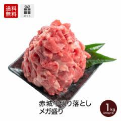 肉 牛肉 お歳暮 ギフト 赤城牛切り落としメガ盛り1kg 200g×5パック 【冷凍】