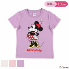[ディズニー]スタンドミニー半袖Tシャツ【100cm・110cm・120cm・130cm】[女の子 アウトウェア 半袖 tシャツ ティーシャツ ティシャツ