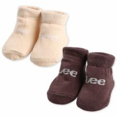 新生児ソックス(Lee)【新生児7-9cm】[かわいい 子供 子ども こども キッズベビー靴下 靴下 くつ下 ベビーソックス ベビー 赤ちゃん 赤