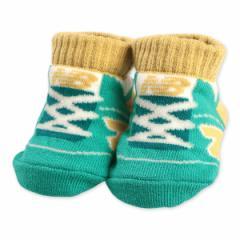 New Balance)新生児ソックス(シューズ柄)【新生児7-9cm】[かわいい 子供 子ども こども キッズベビー靴下 靴下 くつ下 ベビーソックス