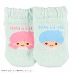 キキララ)ベビーローカットソックス(リトルツインスターズ)【11-16cm】[かわいい 子供 子ども こども キッズベビー靴下 靴下 くつ下