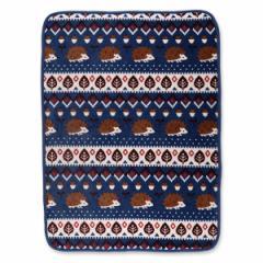 かるふわブランケット(ハリネズミ)【85×115cm】[ベビー 用品 毛布 ブランケット お昼寝ケット 掛け毛布 ベビーケット 赤ちゃん 昼寝