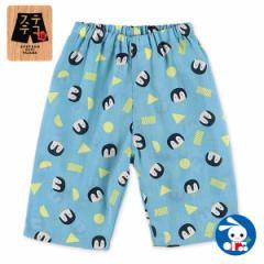 ステテコ(ペンギン柄)【80cm・90cm・95cm】[ステテコ すててこ 半ズボン ハーフパンツ 部屋着 ルームパンツ パジャマ キッズ 子供 子ど