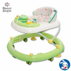 SmartAngel)エンジョイウォーカー ステップ2(グリーン)【歩行器】[ベビー 赤ちゃん おもちゃ 乳児 ベビーウォーカー ベビー用品 ベビ