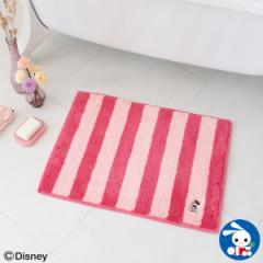 [ディズニー]乾度良好 バスマット ミニーマウス(ピンク)[ お風呂マット 子供 キャラクター 可愛い 足拭きマット 足ふきマット お風呂