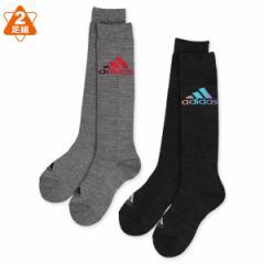 adidas)2足組スクールハイソックス(ロゴ)【19-21cm・21-23cm】[子供 子ども こども キッズ靴下 靴下 くつ下 ソックス 小学生  スクー