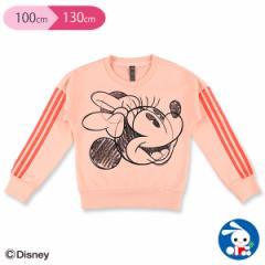 [ディズニー]アディダスミニーマウスクルースウェットシャツ【100cm・110cm・120cm・130cm】