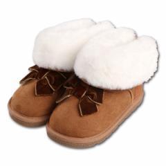 ベロアリボンブーツ【14cm・15cm・16cm】[靴 くつ シューズ ブーツ ジュニア キッズ 子供 女の子 男の子][西松屋]