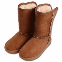 防水ムートンブーツ【17cm・18cm・19cm】[靴 くつ シューズ ブーツ ジュニア キッズ 子供 女の子 男の子][西松屋]