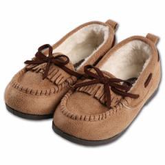 フリンジモカシューズ【13cm・14cm・15cm・16cm】[靴 くつ シューズ ブーツ ジュニア キッズ 子供 女の子 男の子][西松屋]