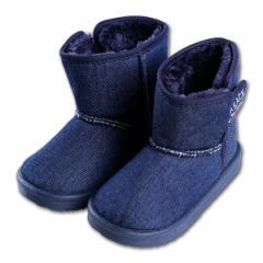 デニムブーツ【14cm・15cm・16cm】[靴 くつ シューズ ブーツ ジュニア キッズ 子供 女の子 男の子][西松屋]