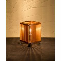 和風スタンドライト 行灯 廉(小) ren-S (A516-T) 杉材と鉄の照明器具 中間調光タイプ(LED非推奨) Japanese style floor lamp ma