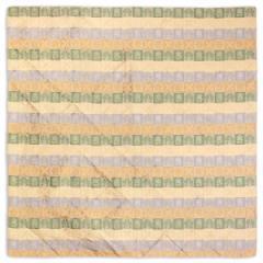 京都 あらいそ 西陣織名物裂 絹風呂敷二尺巾 市松宝 73cm