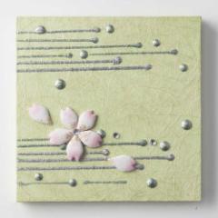 和紙インテリアパネル「華」 HANA/SAKURA-10 (1218)