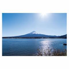 富士山ポストカード 河口湖から富士山を望む (YN-003) 当店オリジナル写真絵はがき