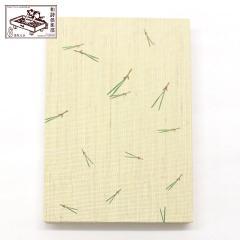 【御朱印帳】末広松葉 (GO-008) 和詩倶楽部 Goshuin book / Washi club