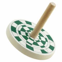 あじさい独楽 山形県の木地玩具 ※色・柄はお選びいただけません