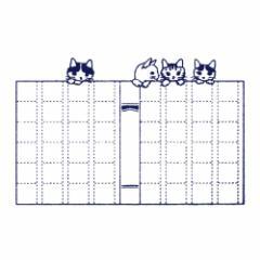 ポタリングキャット 猫はんこ 原稿用紙 (GY-06)