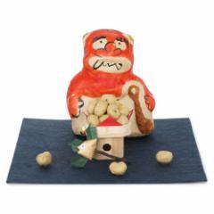 張り子 節分 赤鬼 季節の置き飾り めでたや Seasonal decoration, Setsubun