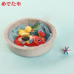 めでたや めでたや遊び 水あそび 季節の飾り・和紙の置物 Seasonal decoration, Japanese paper figurine