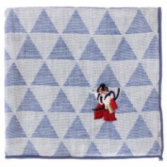 東京ハンカチ 歌舞伎 刺繍入りガーゼハンカチ スーベニール Japanese pattern embroidered gauze handkerchief