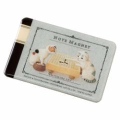 ポタリングキャット カードマグネット「大学ノート囲碁」 (MA-02)