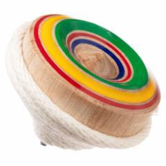 九州 八女和こま・小(投げ独楽) 鉄芯こま 福岡県の木工品 Throw top, Yame wakoma, Fukuoka craft