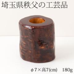 【半額・在庫処分】天然木の置物・爪楊枝立て 梅 埼玉県秩父の工芸品 Toothpick Holder of pine, Saitama chichibu craft