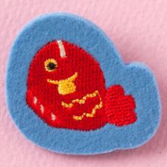 日本のこものブローチ たい スーベニール Brooch of Japanese motif, Red snapper