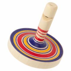 笛こま ※色・柄はお選びいただけません 宮城県の木地玩具 Wooden top, Miyagi craft
