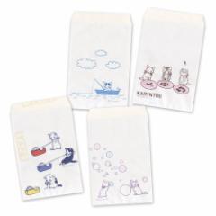 ポタリングキャット 白袋「テープ」(FT-15) 12枚入(4絵柄×各3枚)