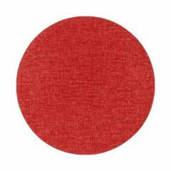 百道発信 四季彩サークルマットM 赤 (IKI-1429) 直径26cm リバーシブルティーマット 福岡県の布製品 Fabric tea mat, Fukuoka craf