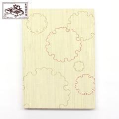【御朱印帳】雪輪 (GO-025) 和詩倶楽部 Goshuin book / Washi club