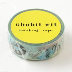 chobit wit マスキングテープ ビーチbeach (CW-128) Masking tape