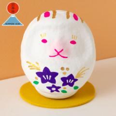 日本市 + 高崎だるま 真下輝永 お月見うさぎだるま Rabbit daruma ※在庫限り