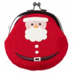 クリスマスがま口 サンタクロース がま口小銭入れ スーベニール Christmas purse