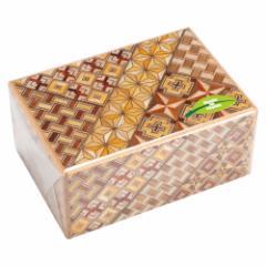 寄木細工 Yosegi-zaiku 秘密箱 4寸7回仕掛け 箱根伝統工芸品