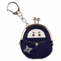 モチーフがま口キーホルダー 忍者 スーベニール Ninja keyring purse