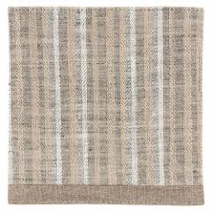 百道発信 ラタン コースター グレージュ (IKI-1437) 11×11cm 福岡県の布製品 Fabric coaster, Fukuoka craft