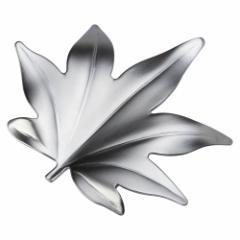 ステンレス箸置き もみじ ツヤ消しシルバー 新潟県の金属製品 Stainless steel chopstick rest