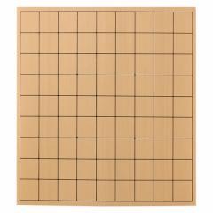 木製将棋盤 折盤 Folding shogi board