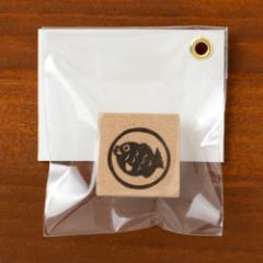めでたいシリーズはんこ たい 消しゴムはんこ ただのやまもと Auspicious pattern hanko stamp